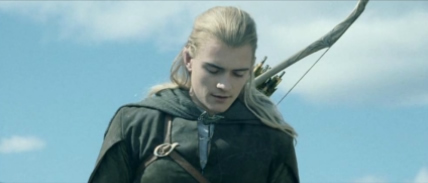 Legolas offers up a prayer