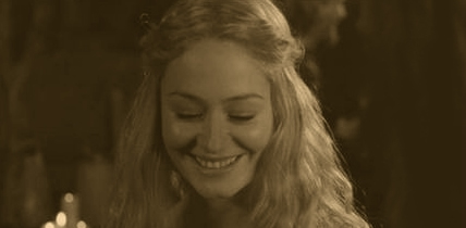Eowyn blushes