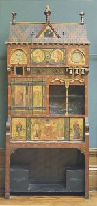 Desk by William Burges