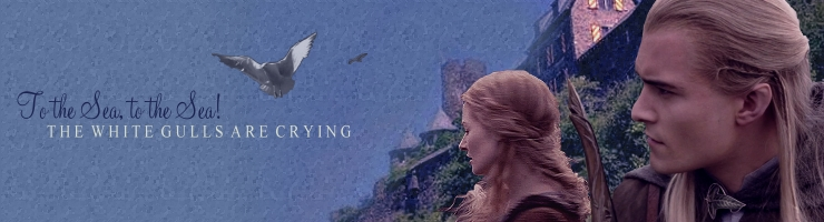 to the sea: eowyn and legolas