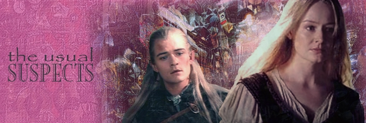 the usual suspects: legolas and eowyn