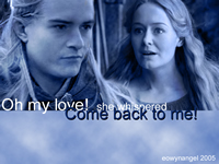 Come back to me! by Eowyn Angel