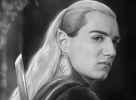 Thranduil. A lovely picture of an elf; artist unknown